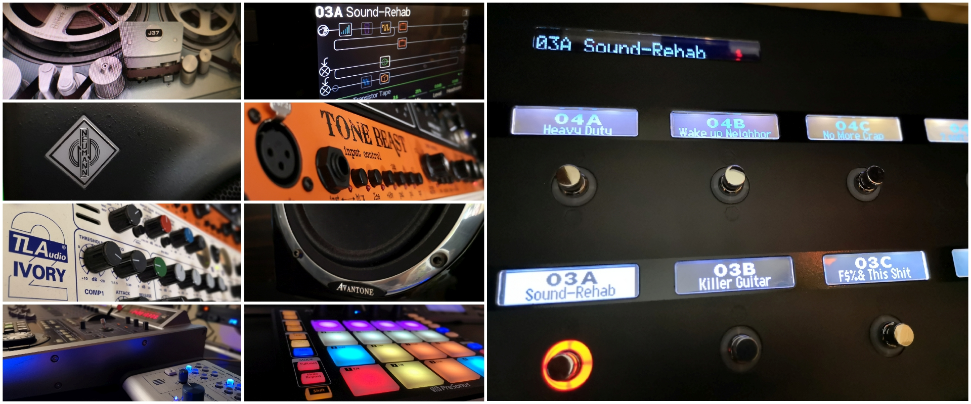 Gear Selection @Sound-Rehab